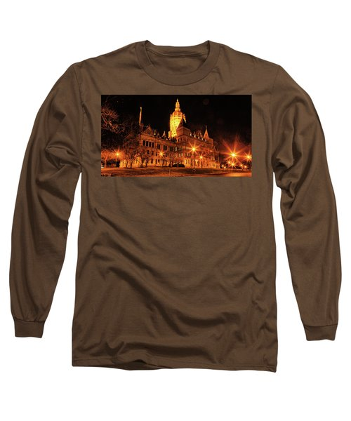 Connecticut State Capitol Long Sleeve T-Shirt