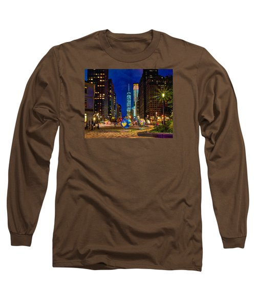 Cool Globes Long Sleeve T-Shirt