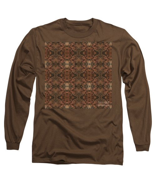 Copper Abstract 1 Long Sleeve T-Shirt