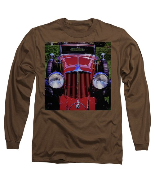 Cord Coupe Long Sleeve T-Shirt