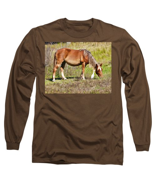 Corolla's Wild Horses Long Sleeve T-Shirt