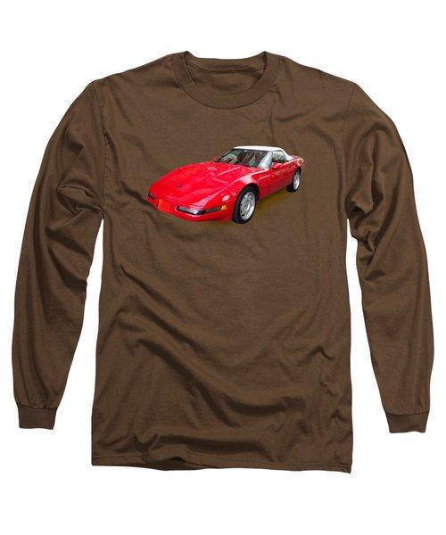 Corvette Long Sleeve T-Shirt by Eric Schiabor