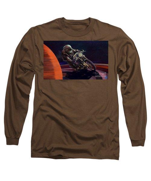 Cosmic Cafe Racer Long Sleeve T-Shirt