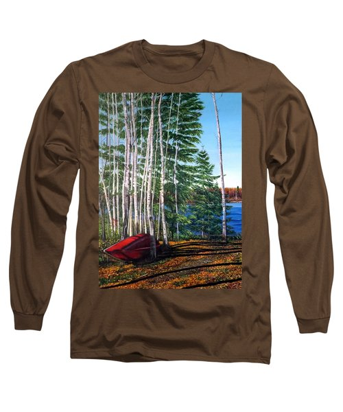 Cottage Country Long Sleeve T-Shirt by Marilyn McNish