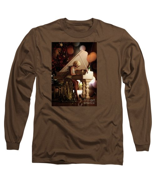Long Sleeve T-Shirt featuring the digital art Counting Blessings by Shanina Conway