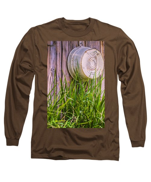 Country Bath Tub Long Sleeve T-Shirt