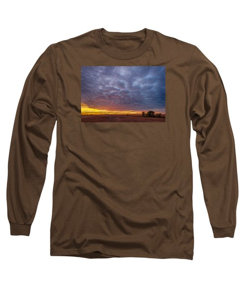 Long Sleeve T-Shirt featuring the photograph Country Living by Sebastian Musial