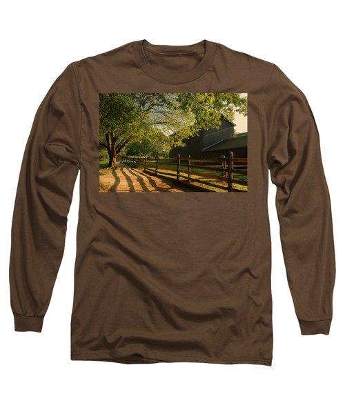 Country Morning - Holmdel Park Long Sleeve T-Shirt