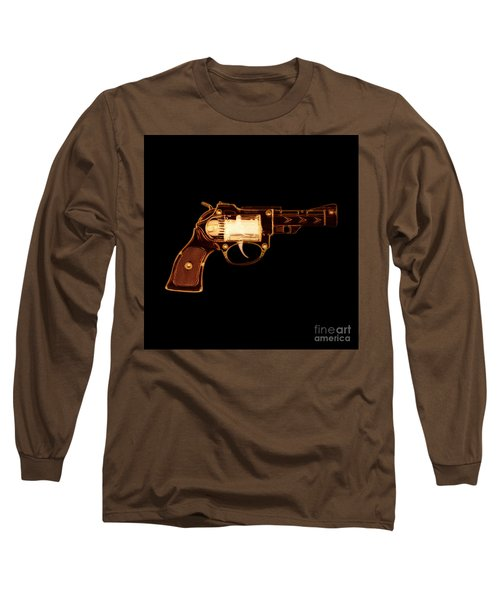 Cowboy Gun 002 Long Sleeve T-Shirt
