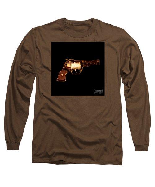Cowboy Gun 002 Long Sleeve T-Shirt