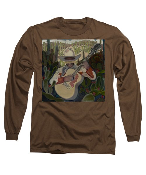 Cowboy In The Cactus Long Sleeve T-Shirt