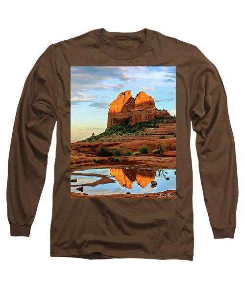Cowpie 07-075 Long Sleeve T-Shirt by Scott McAllister