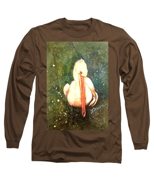 Coy Long Sleeve T-Shirt by Therese Alcorn