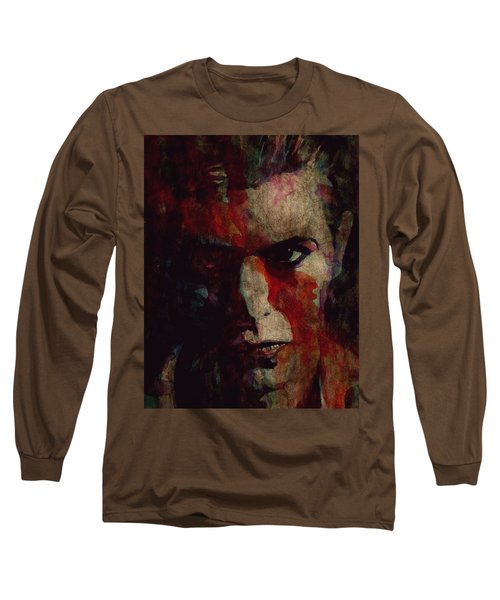 Cracked Actor Long Sleeve T-Shirt
