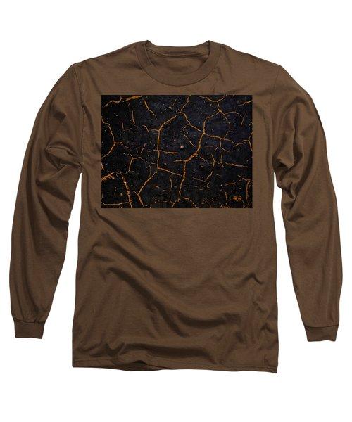 Long Sleeve T-Shirt featuring the photograph Cracking Paint by Jason Moynihan