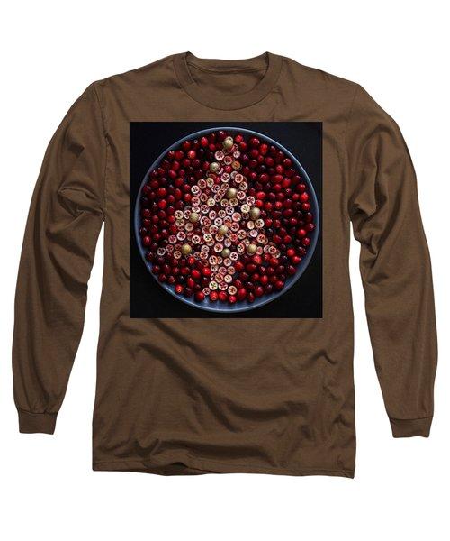 Cranberry Christmas Tree Long Sleeve T-Shirt