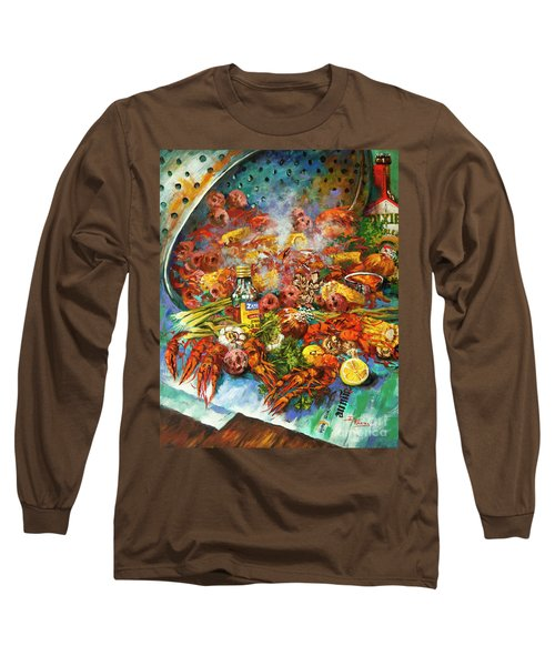 Crawfish Time Long Sleeve T-Shirt