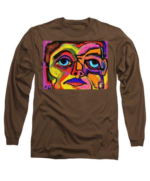 Crayon Bob Long Sleeve T-Shirt