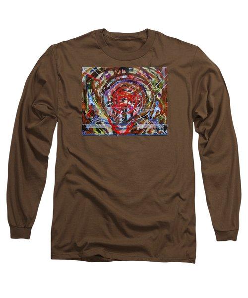 Crazy Quilt Star Dream Long Sleeve T-Shirt by Stuart Engel