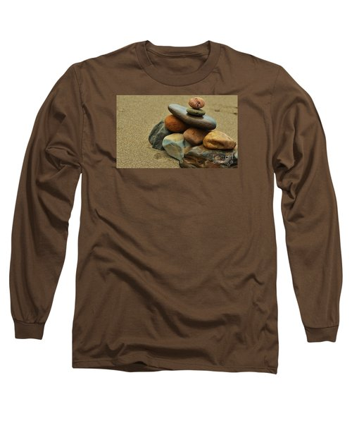 Long Sleeve T-Shirt featuring the photograph Creating Balance by Pamela Blizzard