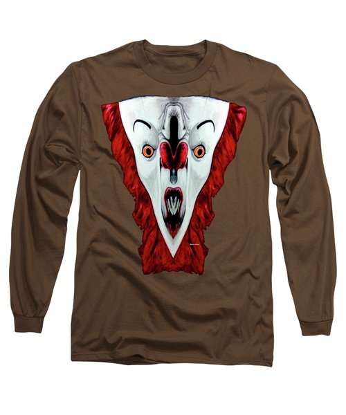 Creepy Clown 01215 Long Sleeve T-Shirt