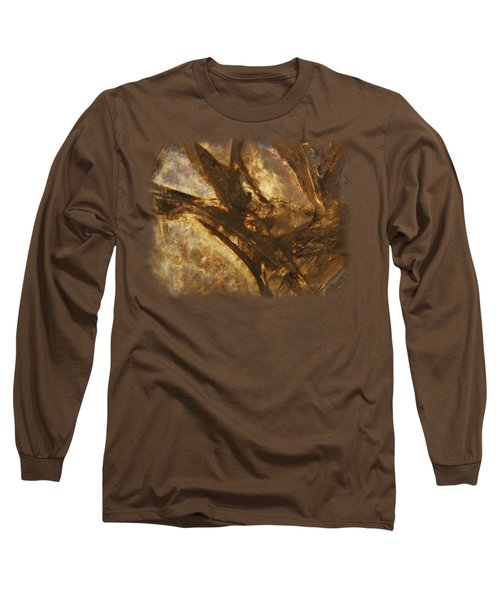 Crevasses Long Sleeve T-Shirt by Sami Tiainen