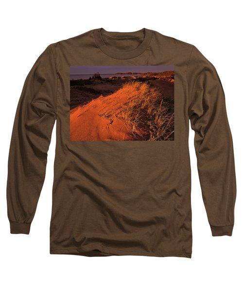 Crimson Dunes Long Sleeve T-Shirt