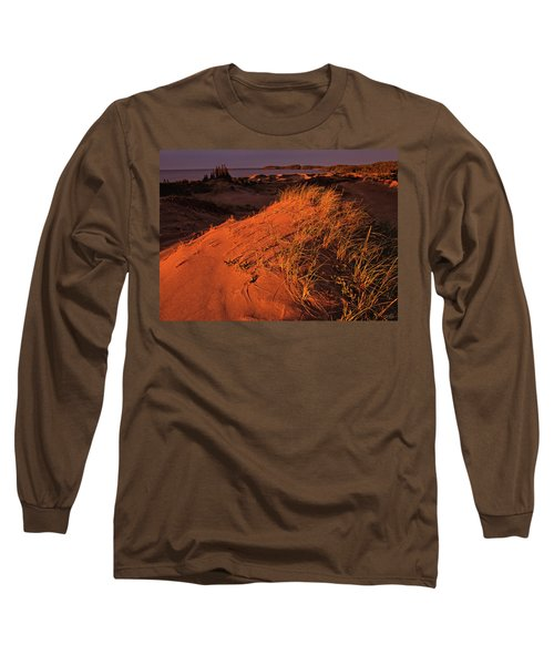 Crimson Dunes Long Sleeve T-Shirt