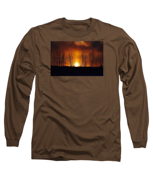 Crisp Sunset Long Sleeve T-Shirt
