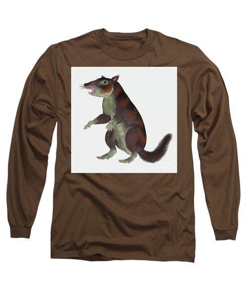 Cronopio Mammal On White Long Sleeve T-Shirt