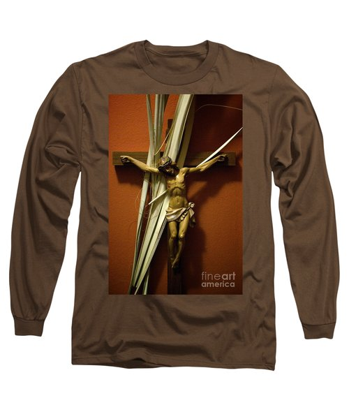 Crucifix Long Sleeve T-Shirt