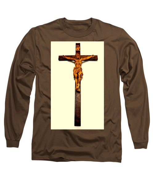Crucifix Long Sleeve T-Shirt