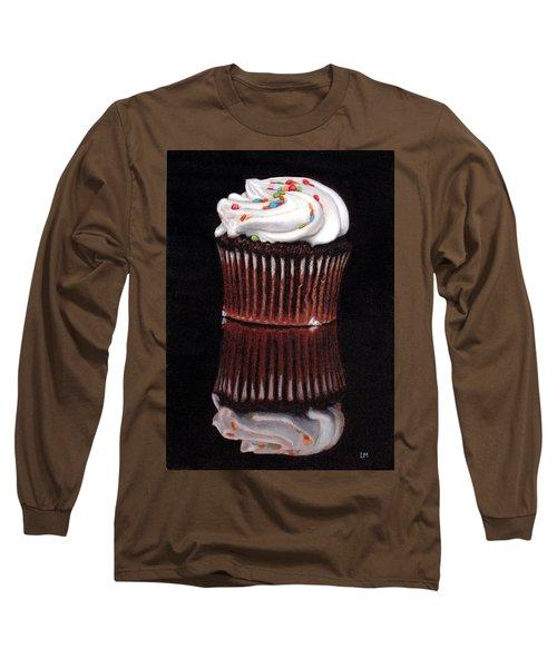 Cupcake Reflections Long Sleeve T-Shirt