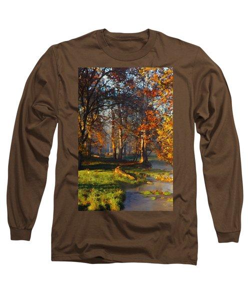 Curry Stream Fall Long Sleeve T-Shirt