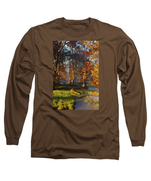 Curry Stream Fall Long Sleeve T-Shirt