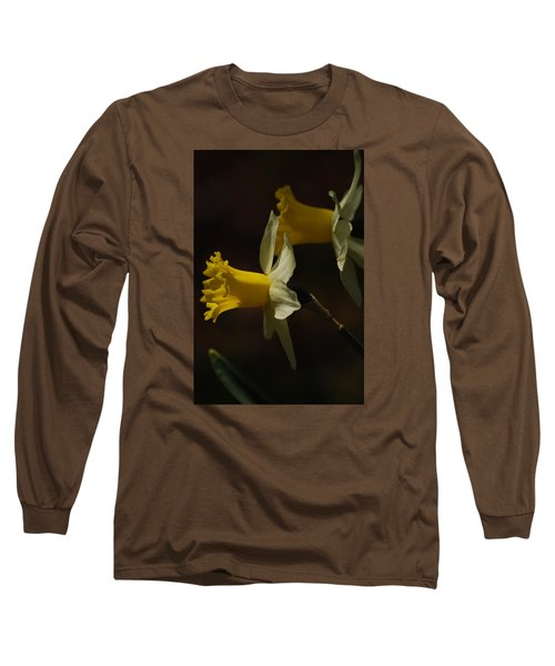 Long Sleeve T-Shirt featuring the photograph Daffodil by Ramona Whiteaker