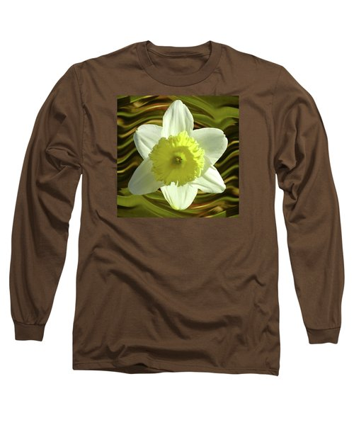 Daffodil Swirl Long Sleeve T-Shirt