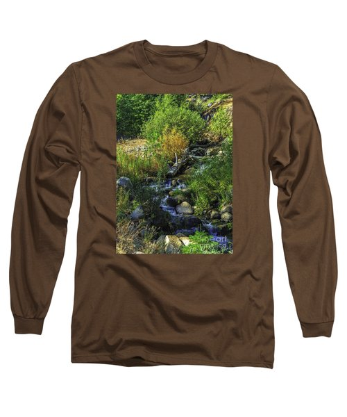 Long Sleeve T-Shirt featuring the photograph Daily Greens-2 by Nancy Marie Ricketts
