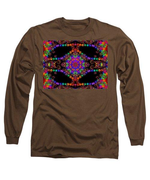 Long Sleeve T-Shirt featuring the digital art Dakota by Robert Orinski