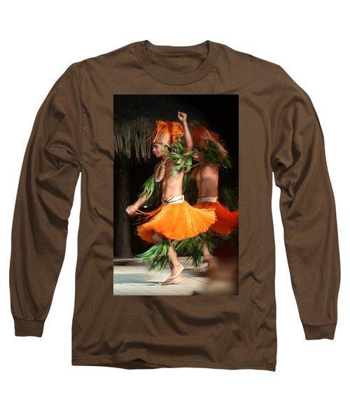 Dancing In Tahiti Long Sleeve T-Shirt