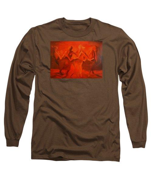 Dancing In The Gloaming Long Sleeve T-Shirt