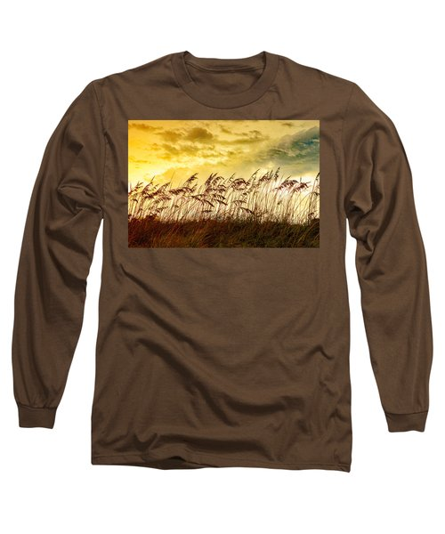 Dancing Sea Oats Long Sleeve T-Shirt
