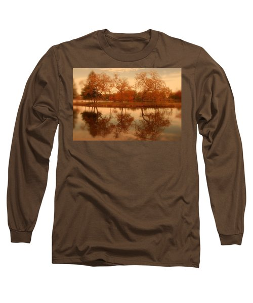 Dancing Trees - Lake Carasaljo Long Sleeve T-Shirt