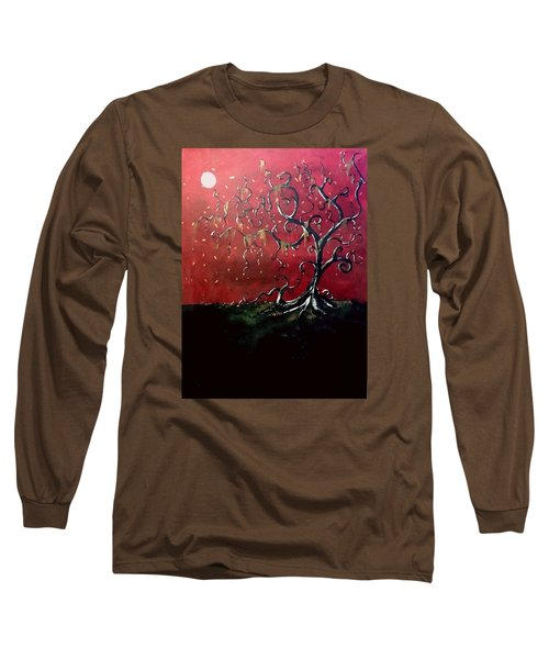 Dancing Wood Long Sleeve T-Shirt