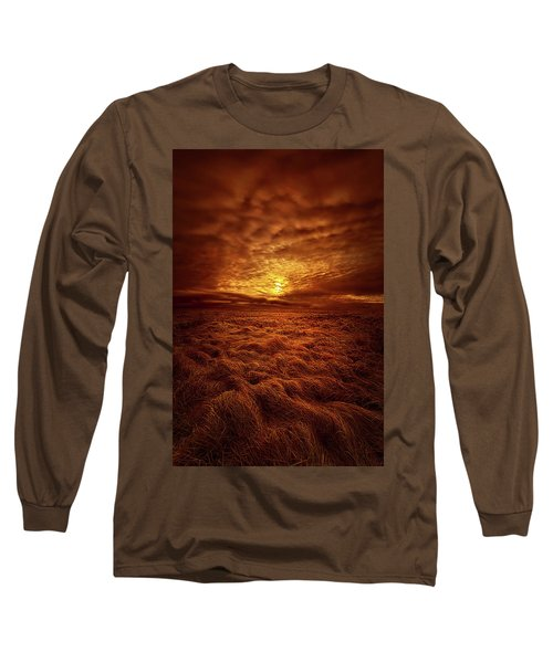 Long Sleeve T-Shirt featuring the photograph Dare I Hope by Phil Koch