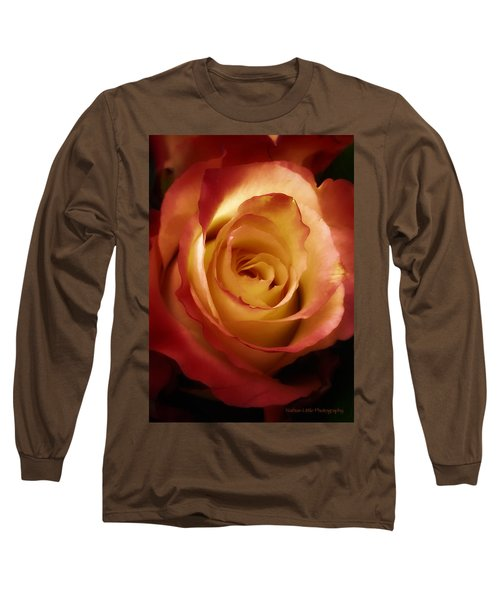 Dark Rose Long Sleeve T-Shirt