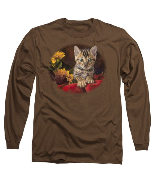 Darling Long Sleeve T-Shirt by Lucie Bilodeau