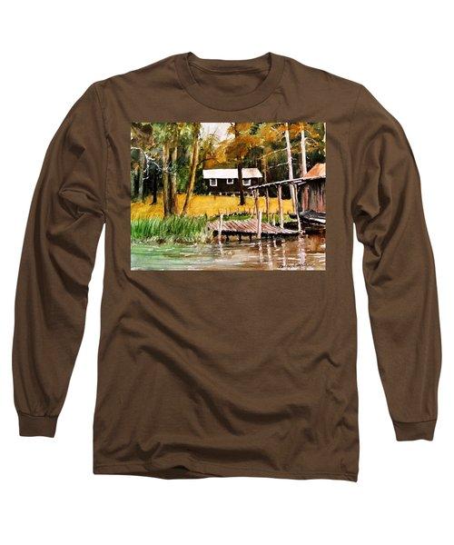 Darrells Hideout Long Sleeve T-Shirt