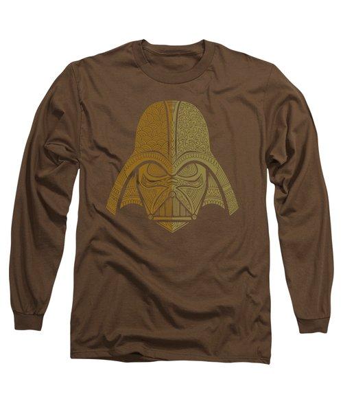 Darth Vader - Star Wars Art - Brown 02 Long Sleeve T-Shirt