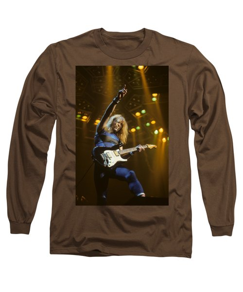 Dave Murray Of Iron Maiden Long Sleeve T-Shirt